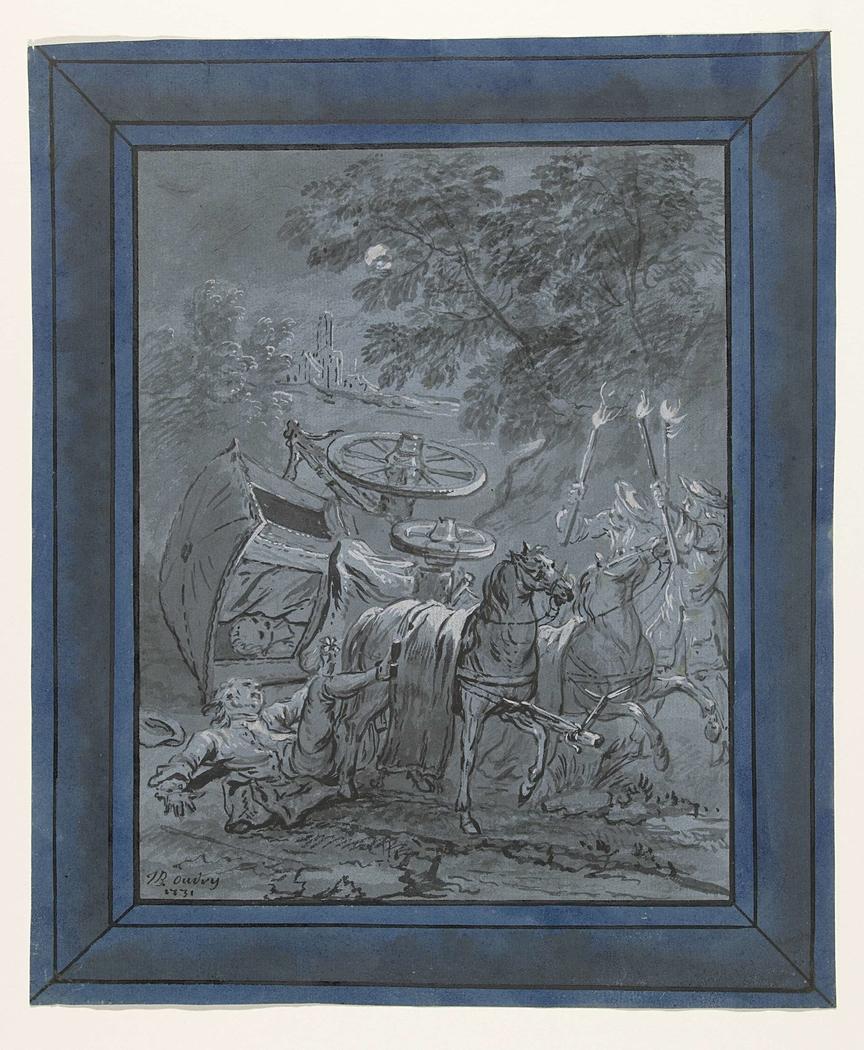 De pastoor en de Dood / Le Curé et le Mort