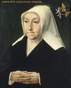 Dubbelportret van Adriaen van de Broucke en Catharina Vranx