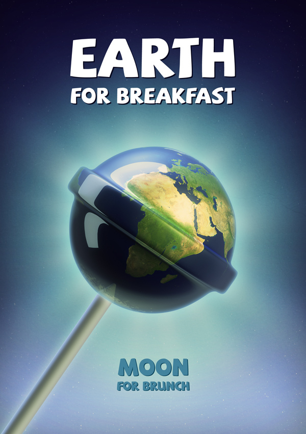 Earth for breakfast