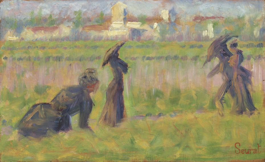 Figures in a Landscape
