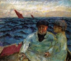 Fishermen in a Boat, Brittany