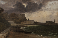 From the Harbour at Naples. Gathering Storm