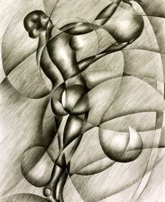 Geometrical nude