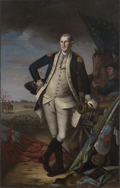 George Washington at the Battle ofPrinceton
