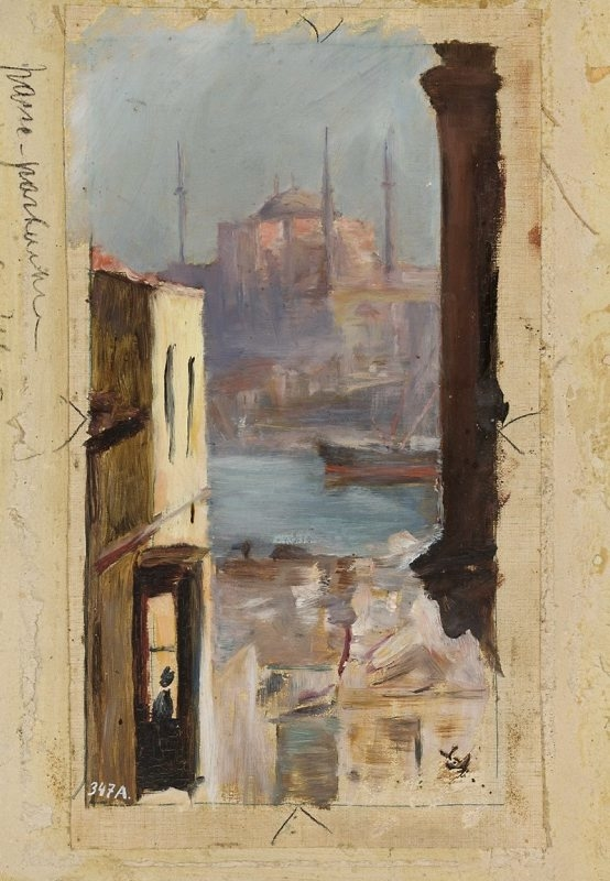 Hagia Sophia. From the journey to Constantinople