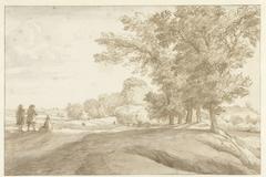 Heuvelachtig terrein in de omstreken van Windsor