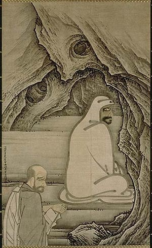 Huike Offering His Arm to Bodhidharma