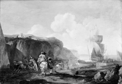 Hunting Party by a Southern Harbour