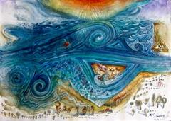 IN AUGUST, THE SEA IN KARLOVASI GEOMETRIES.... ΤΟΝ ΑΥΓΟΥΣΤΟ, Η ΘΑΛΑΣΣΑ ΣΤΟ ΚΑΡΛΟΒΑΣΙ ΓΕΩΜΕΤΡΕΙ..