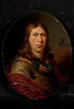 Kopie van het zelfportret van Jan van Mieris