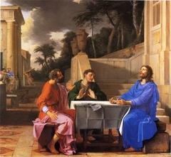 L'Apparition du Christ aux pèlerins d'Emmaüs