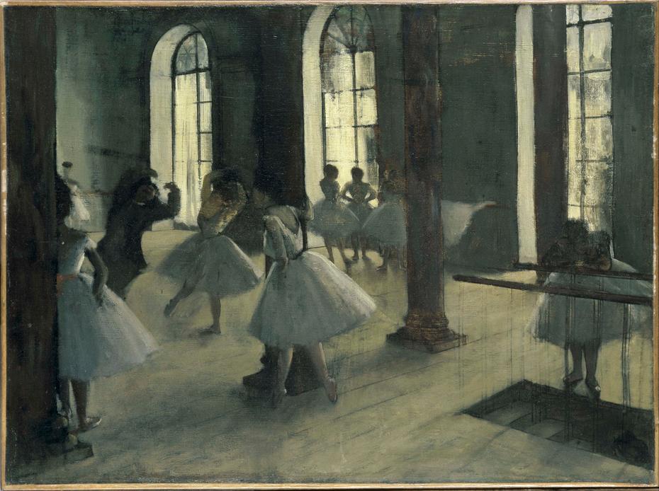 La Répétition au foyer de la danse