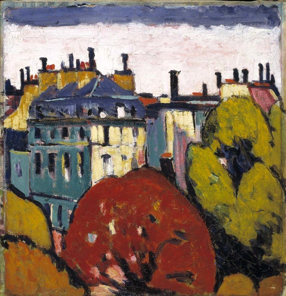 Landscape, Paris