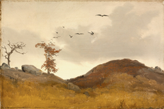 Landscape with Crows
