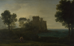 'Landscape with Psyche outside the Palace of Cupid' or 'The Enchanted Castle'