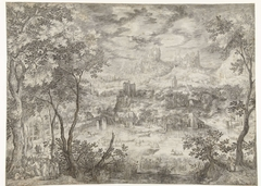 Landscape with the Healing of the Blind