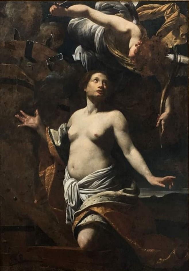 Le martyre de Sainte Catherine