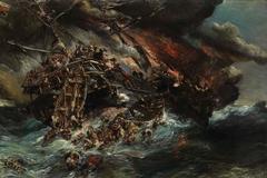 Le naufrage de l'Austria