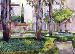 Lindaraja Courtyard, Nazarine Palace, Alhambra