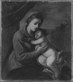 Maria mit dem Kind (?)