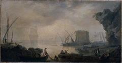 Marine, effet de brouillard