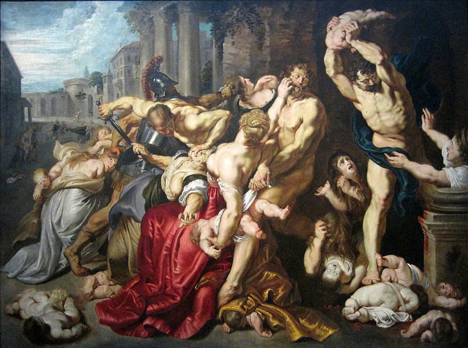 Massacre of the Innocents by Rubens workshop
