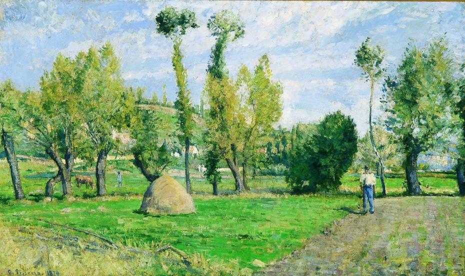 Meadows at Le Valhermeil, Auvers-sur-Oise