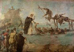Miracle of a dominican Saint (Gonzalo di Amarante?)