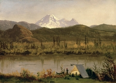 Mount Baker, Washington, from the Frazier River