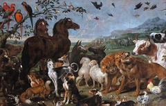 Noah's Ark; (Entry of the Animals into Noah's Ark)