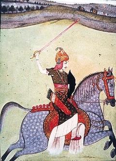 Peshwa Baji Rao I riding horse