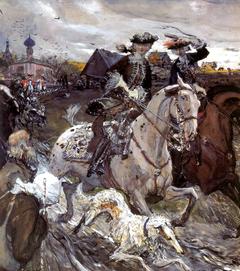 Peter II and Princess Elizabeth Petrovna Riding to Hound