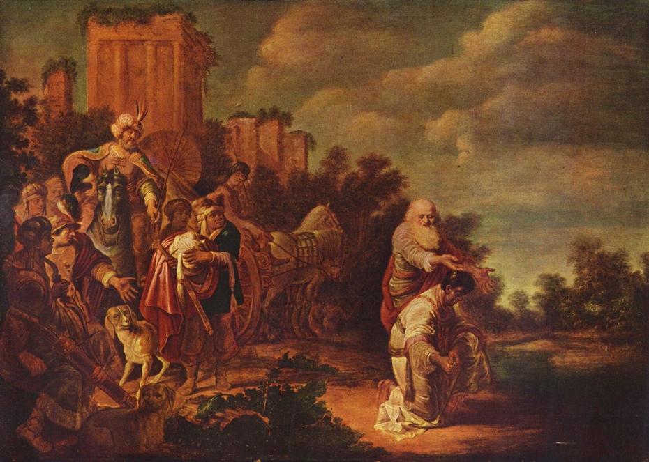 Philip Baptizes the Moor