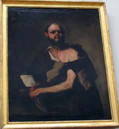 Philosopher with Eyeglasses