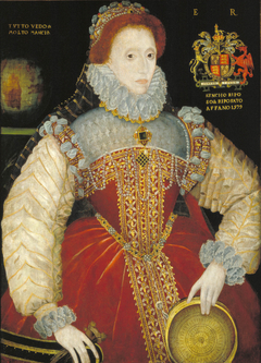 Plimpton Sieve Portrait of Queen Elizabeth I
