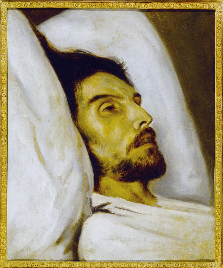Portrait d'homme sur son lit de mort, autrefois dit Armand Carrel