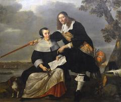 Portrait de Hendryck Henck et de sa femme Catharina Browers