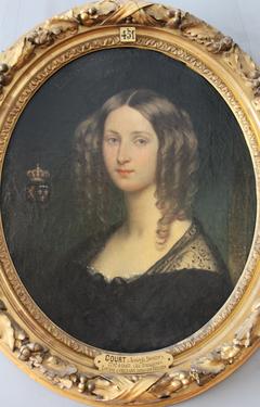 Portrait de la princesse Louise d'Orléans, reine des belges