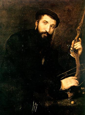 Portrait of a crossbowman (Mastro Battista di Rocca Contrada)