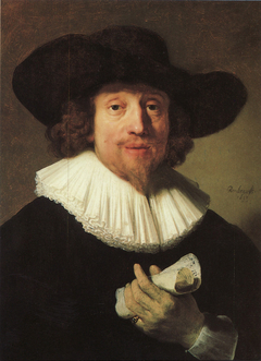 Portrait of a Musician with a Sheet of Music in his Hand