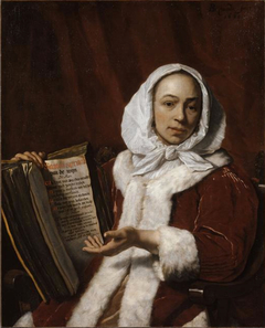 Portrait of a Woman with a Book