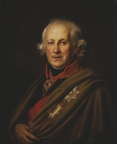 """Portrait of Admiral Nikolay Mordvinov"""