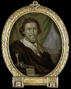 Portrait of Adriaen Pietersz van de Venne, Painter and Poet