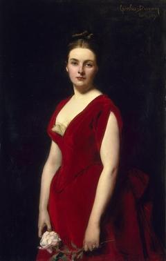 Portrait of Anna Obolenskaya
