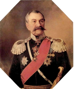 Portrait of I.A.Orlov, Lieutenant-General of the Cossack Troops
