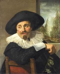 Portrait of Isaak Abrahamsz. Massa