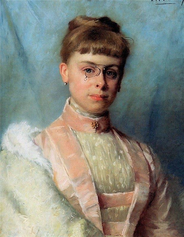 Portrait of Johanna Eugenia Theadora Van Hoorn Schouwe