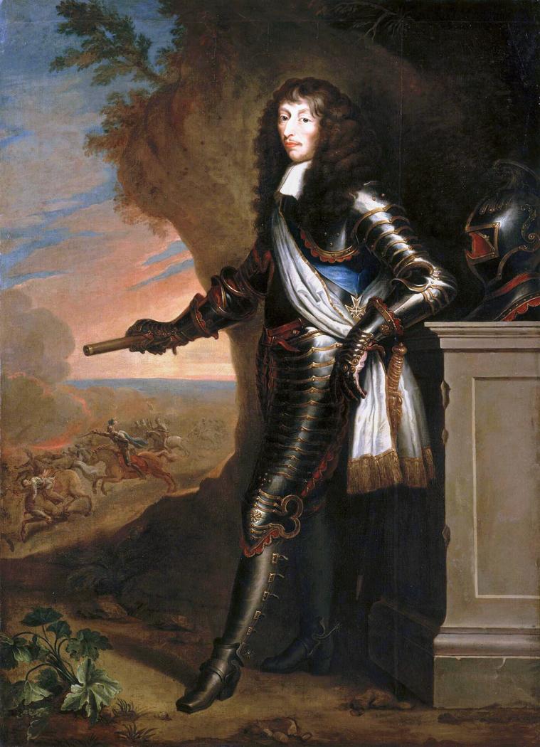 Portrait of Louis de Bourbon, Prince of Condé (1621-1686)
