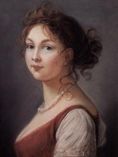Portrait of Louise von Mecklenburg-Streltz (1776-1810), Queen of Prussia, 1801