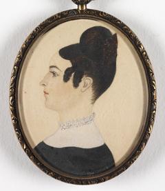 Portrait of Miss Coffin (?) of Warren, RI